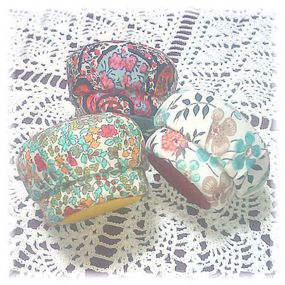 #119_マカロン型小丸箱/Small Macaloon Boxes ©Atelier Z=Grace