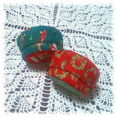 X'mas Macaroon Boxes/クリスマス・マカロン型小丸箱 ©Atelier Z=Grace