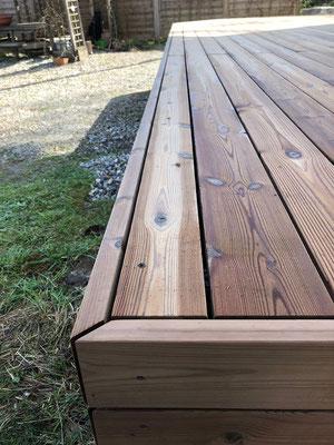 Terrassenabschluss Holzbau von Ihrem Spezialisten im Oberaargau - Holzbau Peter Beck AG Niederönz