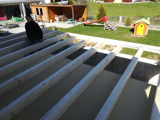Bodenkonstruktion / Balkenlage