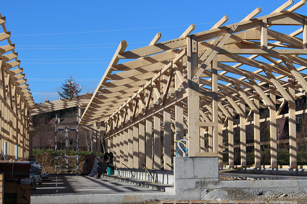 Landwirtschaft Holzbau von Ihrem Spezialisten im Oberaargau - Holzbau Peter Beck AG Niederönz
