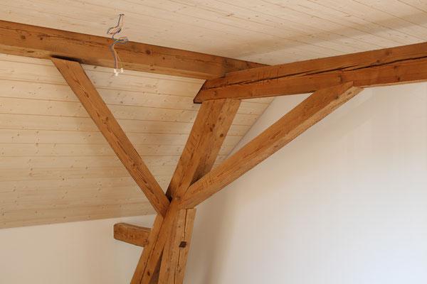 Täferdecke Innenausbau von Ihrem Spezialisten im Oberaargau - Holzbau Peter Beck AG Niederönz