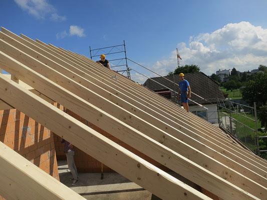 Sparrendach Holzbau von Ihrem Spezialisten im Oberaargau - Holzbau Peter Beck AG Niederönz