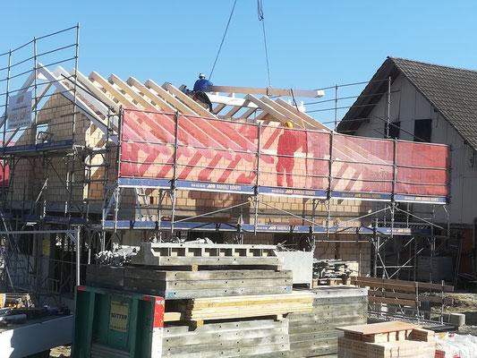 Dachkonstruktion Bleienbach