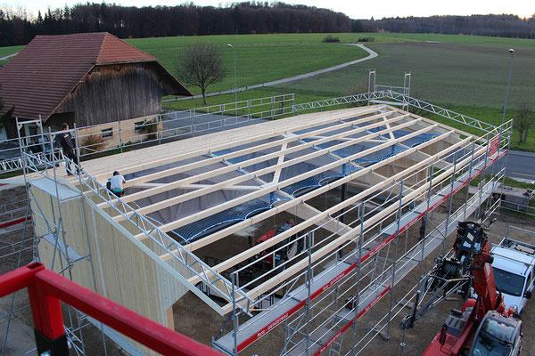 Wagenschopf Holzbau von Ihrem Spezialisten im Oberaargau - Holzbau Peter Beck AG Niederönz