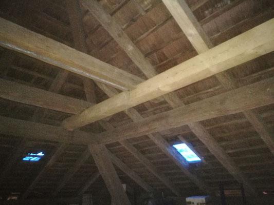 Sanierung Holzkonstruktion