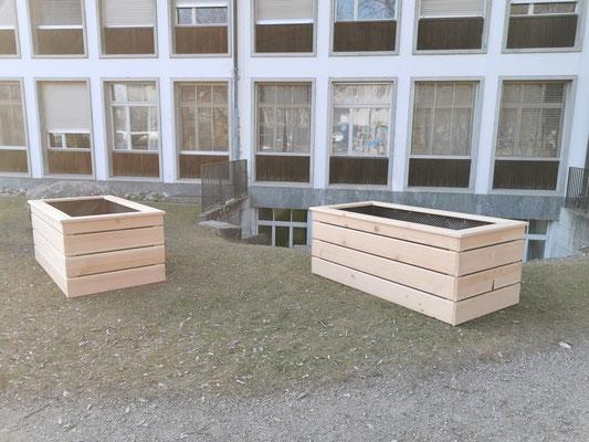 Hochbeet Schule Burgdorf