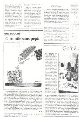 Le Figaro août septembre 1996