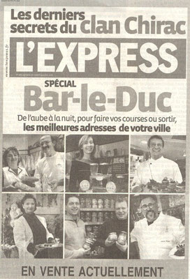 L'Express du jeudi 27 avril 2006