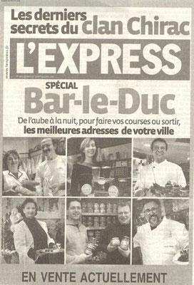 L'Express du jeudi 27 avril 2006