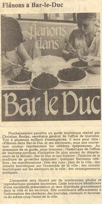 L'Est Républicain 7 Février 1982
