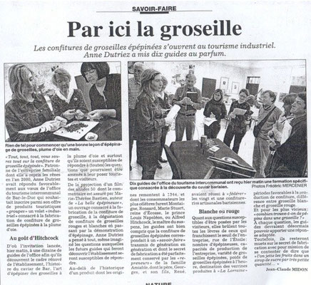 L'Est Républicain mardi 4 mars 2008