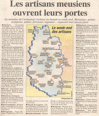 L'Est Républicain 21 mars 2003