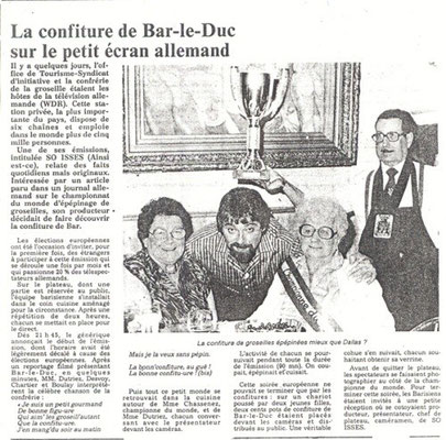L'Est Républicain 28 juin 1984