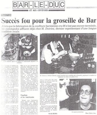 L'Est Républicain mardi 12 septembre 1995