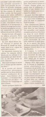 L'Est Républicain 29 janvier 2010