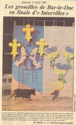 L'Est Républicain samedi 17 août 1991