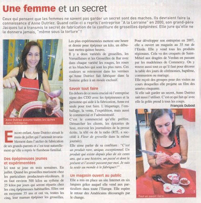 Fleur de Groseille n° 233 septembre 2010