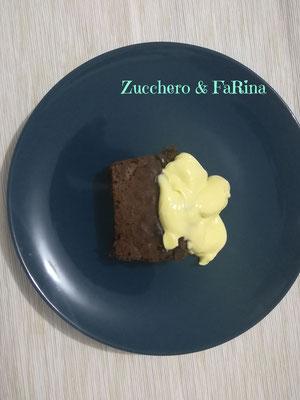 Torta Barozzi con crema al mascarpone