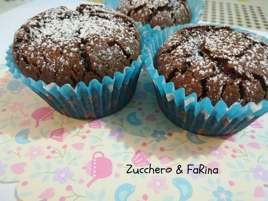 Muffin morbini al cioccolato