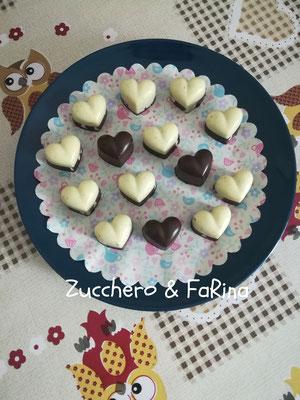 """Cioccolatini """"dolce metà"""""""
