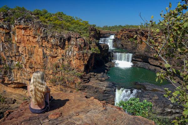 die atemberaubenden Mitchell Falls