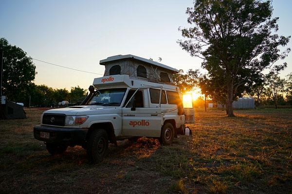 Camping auf der Drysdale River Station