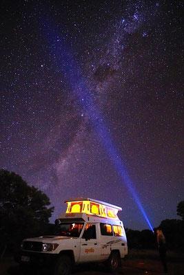 die Milchstraße im Outback