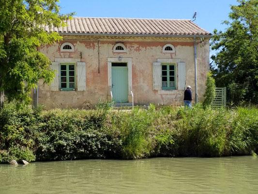In Colombiers am Canal du Midi- Kleines Haus zum Träumen