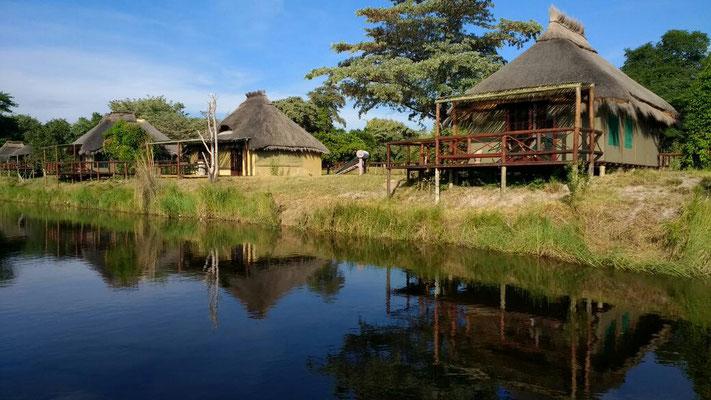 Unterkunft am Kwando-River