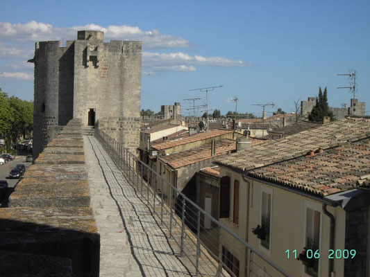 AIGUES MORTES - Mauer rund um die Stadt