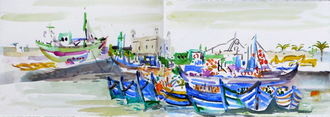 04 Essaouira - Fischerhafen