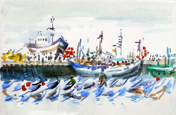 03 Essaouira - Fischerhafen