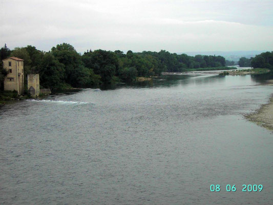Rhone bei BOURG ST.ANDEAOL - vor Lyon
