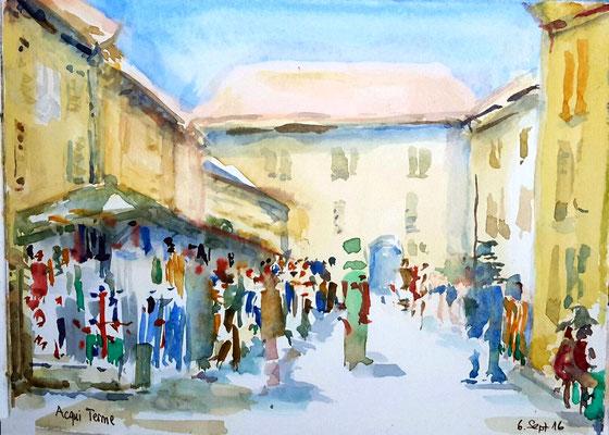 Aqui Terme Markt 6. Sep 2016