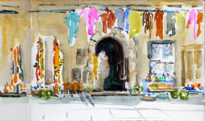 01 Essaouira - Scala (Marktstand in der Stadtmauer)