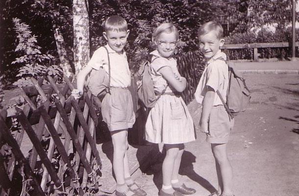 Bärni Pfander, Elsbeth und Andi Tromp - Auf zur Schulreise