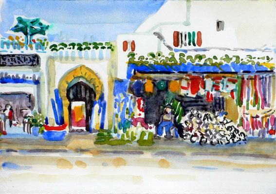 07 Essaouira - Marktstand