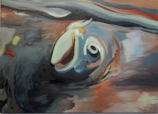 iceland fisk | 60 x 80 cm | Öl auf LW | 2016