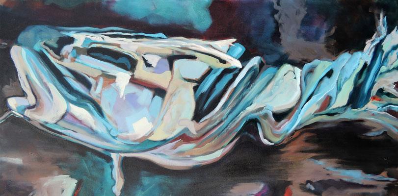 carcass 3 | 50 x 100 cm | Öl auf LW | 2016