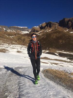 Trainingslauf Grosse Scheidegg, Dezember 2016