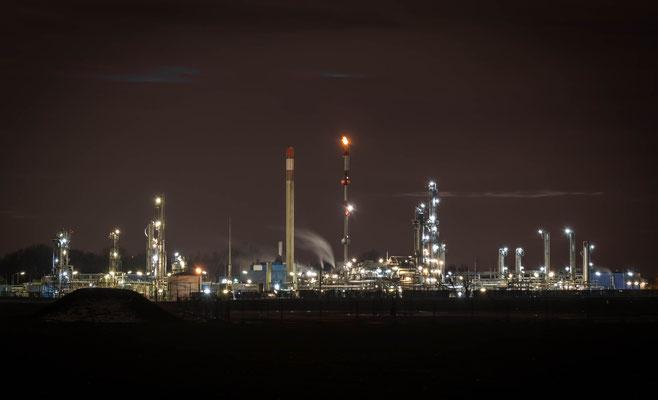 Erdgasaufbereitungsanlage in Aderklaa