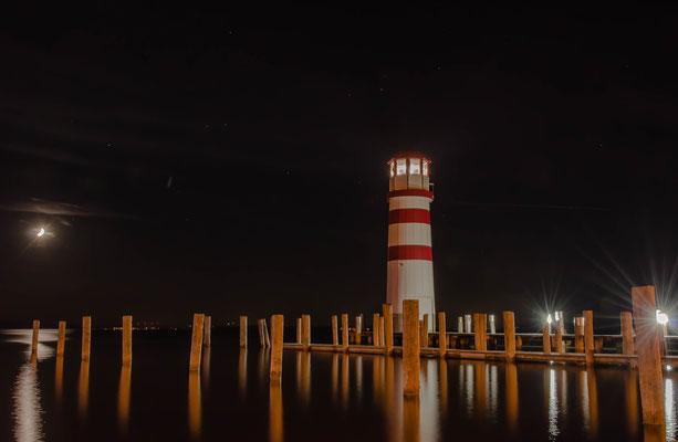 Der Leuchtturm in Podersdorf