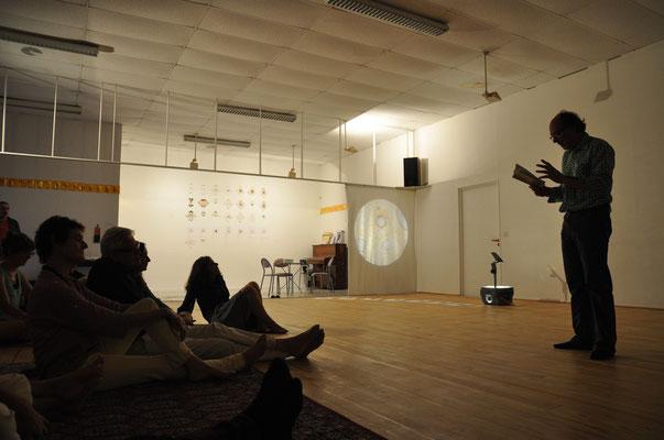 """Invitation """"Les 17"""" Delphine Soustelle Truchi, à la Conserverie, Nantes, juillet 2015"""