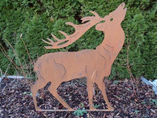 S ulen und w rfel individuell gestaltbar metalldeko for Gartendekoration tiere