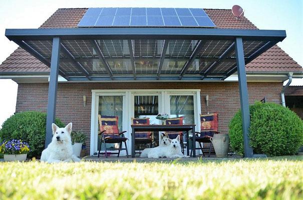 Terrassenüberdachung Solar