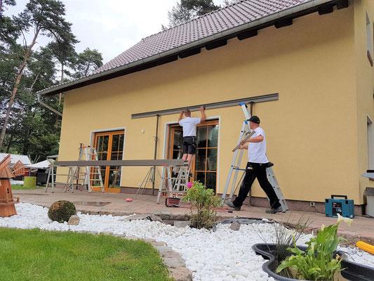 Terrassendach Montageservice