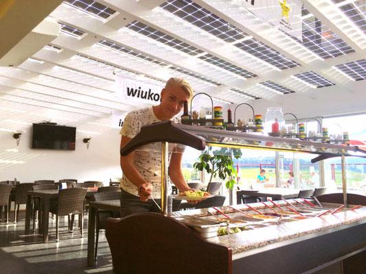 Solarglas im öffentlichen Bereich