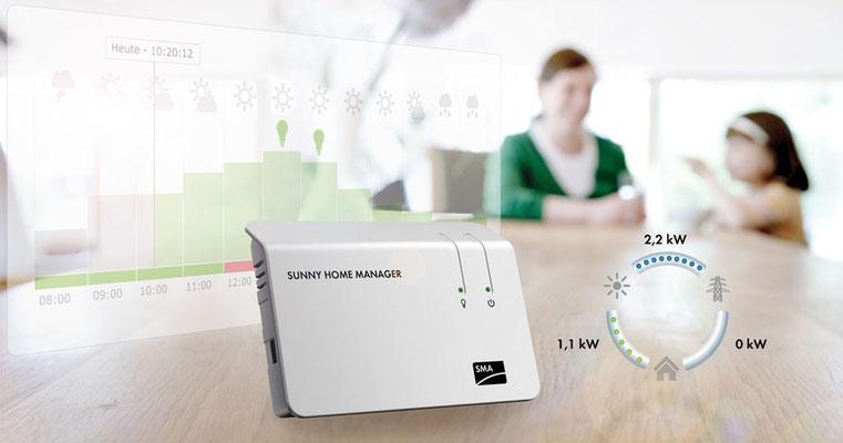 Energie Manager Solaranlage