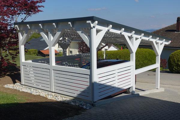 Schweiz Solarcarport